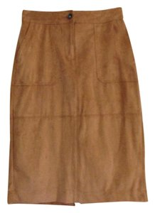 Liz Claiborne Nwt Size 4 Pencil Skirt Tan