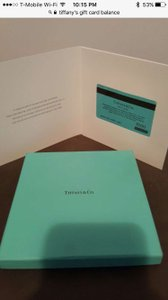 Tiffany & Co. Blue This Is A Listing For A Gift Card