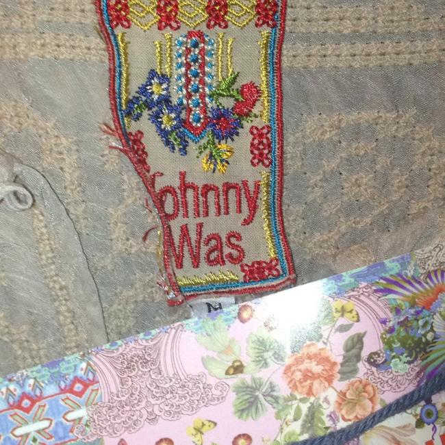 Johnny Was Cotton Crochet Embroidered V-neck Tunic Image 1