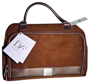 Diane von Furstenberg Brown Travel Bag