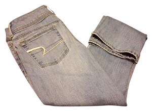 American Eagle Outfitters Boot Cut Jeans-Light Wash