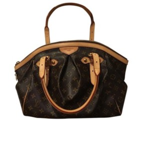 Louis Vuitton Satchel in camel brown