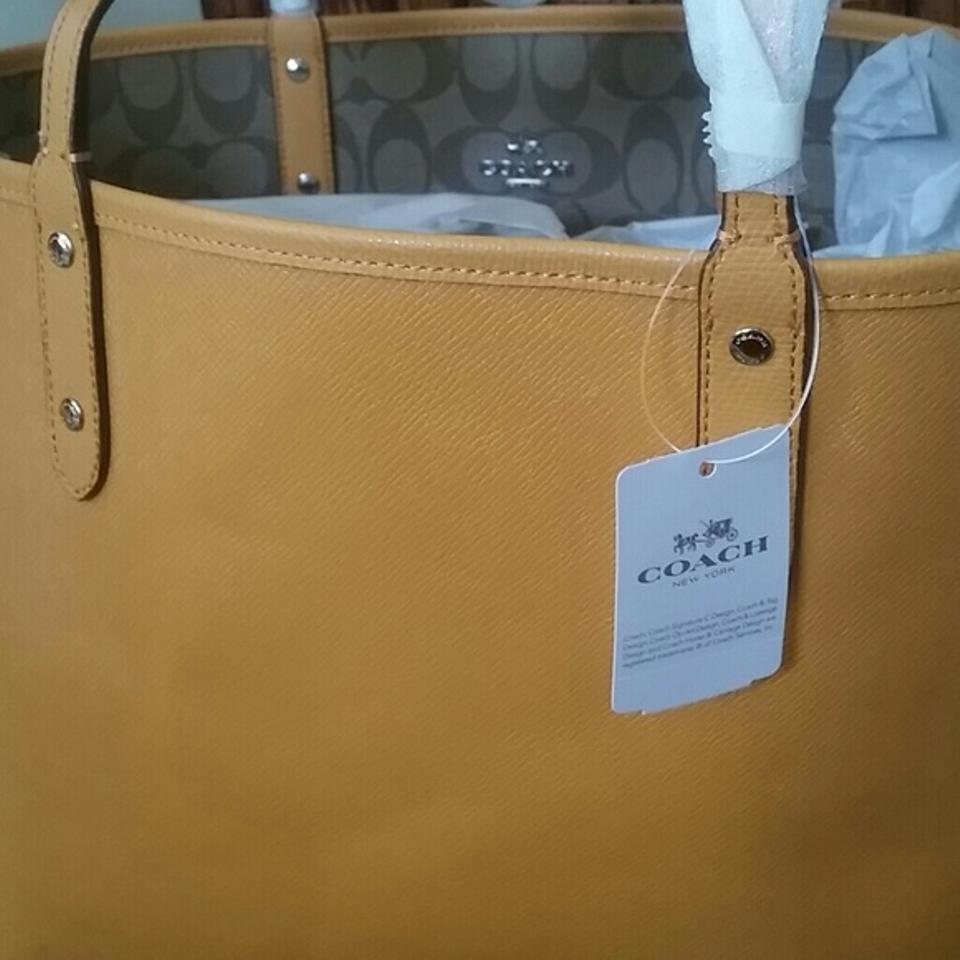 680c56d7d997 Coach City Colored Bag. Nwt. Rare Color Hard To Find. Has T Mustard ...