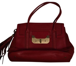 Diane von Furstenberg Satchel in bright red
