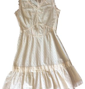 Marc by Marc Jacobs Dress:6 short dress off white on Tradesy