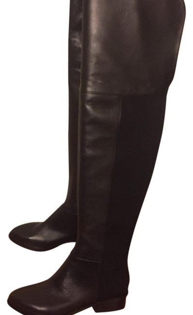 BCBGMAXAZRIA Black Over-the-knee Boots/Booties Size US 5.5 Regular (M, B) BCBGMAXAZRIA Black Over-the-knee Boots/Booties Size US 5.5 Regular (M, B) Image 1