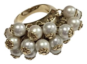 Kate Spade Faux Pearl Cluster Ring