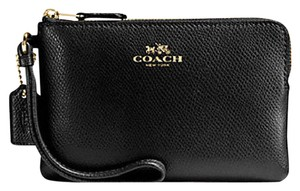 Coach Date Night Valentine's Day Wristlet in Black