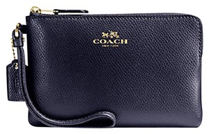 Coach Date Night Valentine's Day Gift 54626 Night Out Wristlet in Midnight Blue