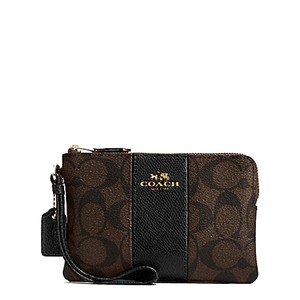 Coach Date Night Valentine's Day Gift Night Out 54629 Wristlet in Brown/Black