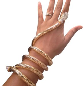 Next Level Dress Vintage Snake Cuff Bracelet