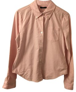 Lux Button Down Shirt pink with stripes