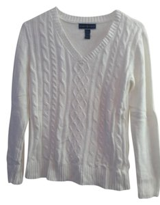 Karen Scott Cable Knit V-neck Macy's Sweater