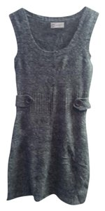 Grey Maxi Dress by Macy's Marled Sweater Vest Jumper