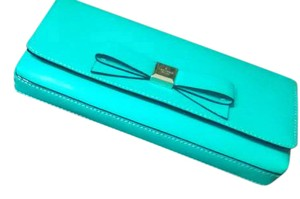 Kate Spade Teal Blue Clutch