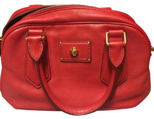 Marc by Marc Jacobs Satchel in Rosey Red