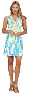 Lilly Pulitzer short dress Crystal Coast Shift Summer Short on Tradesy