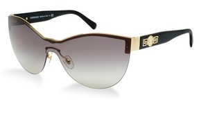Versace NEW Versace VE 2144 Sunglasses Rock Icons Black Purple Medusa Shield