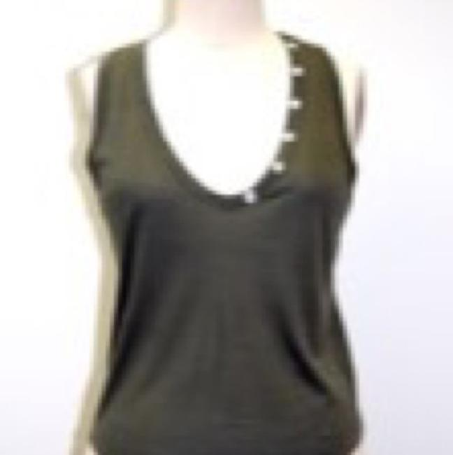 360 Sweater Top Olive Image 1