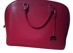 Gianni Conti Satchel in Red
