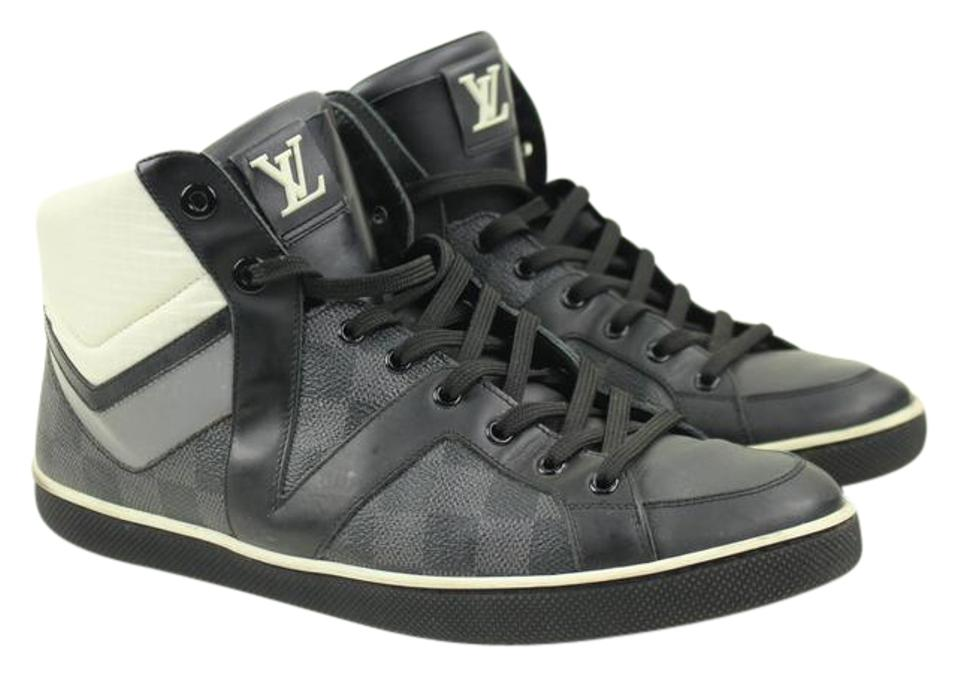 78f8b6c7a1c Louis Vuitton Damier Graphite Canvas Heroes High-top Men's Sneakers Size US  7.5 Regular (M, B) 66% off retail