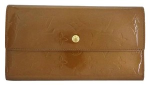 Louis Vuitton lvvsl17 Vernis Bronze Sarah Wallet