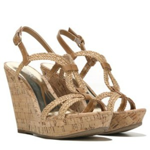 Carlos by Carlos Santana Sandals Strappy Beige Wedges