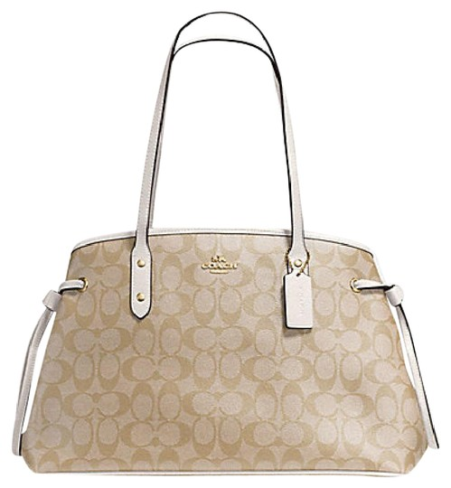 Coach Date Valentine's Day Gift 57842 Carryall Purse Shoulder Bag