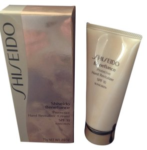 Shisedo Brand new shiseido benefiance protective hand revitalizer cream SPF 10 Sunscreen 75g