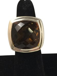 David Yurman 20mm Citrine Albion 925 Ring