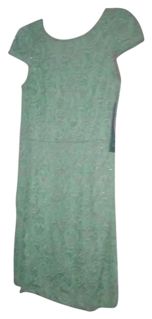 Preload https://img-static.tradesy.com/item/20543002/maia-green-lace-mid-length-workoffice-dress-size-12-l-0-1-650-650.jpg