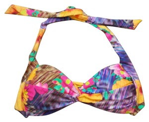 Nanette Lepore Playa Tropical Floral Bikini Top small