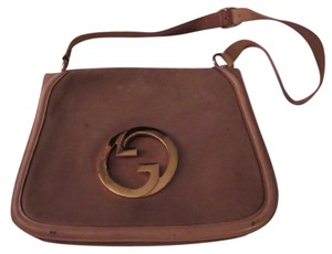 Gucci Early Blondie Excellent Vintage Perfect For Everyday Rare Suede/Leather High-end Bohemian Hobo Bag