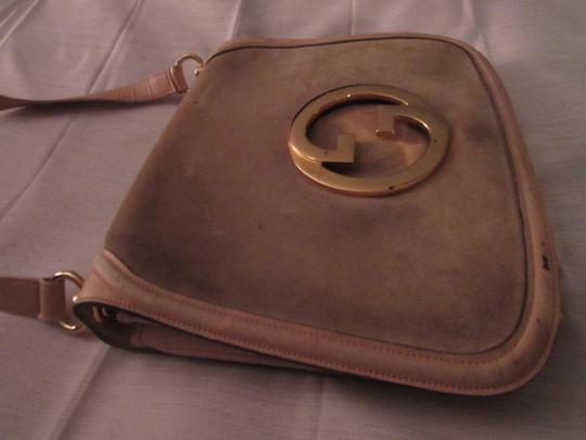 Gucci Early Blondie Excellent Vintage Perfect For Everyday Rare Suede/Leather High-end Bohemian Hobo Bag Image 1