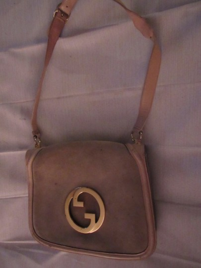 Gucci Early Blondie Excellent Vintage Perfect For Everyday Rare Suede/Leather High-end Bohemian Hobo Bag Image 10