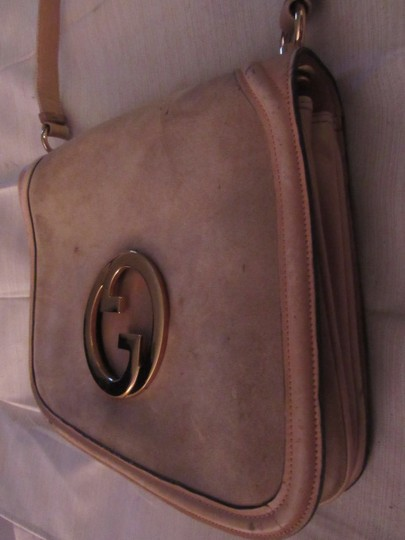 Gucci Early Blondie Excellent Vintage Perfect For Everyday Rare Suede/Leather High-end Bohemian Hobo Bag Image 11