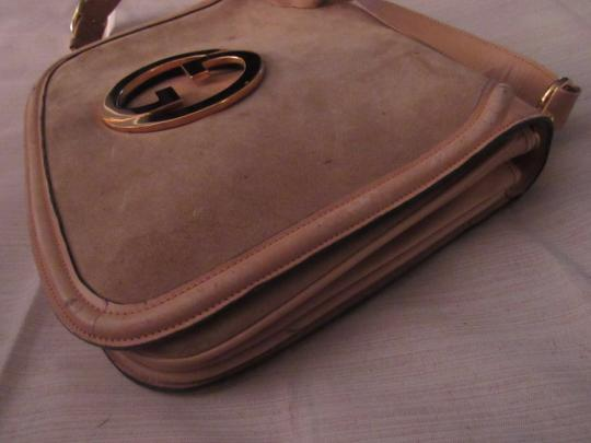 Gucci Early Blondie Excellent Vintage Perfect For Everyday Rare Suede/Leather High-end Bohemian Hobo Bag Image 2