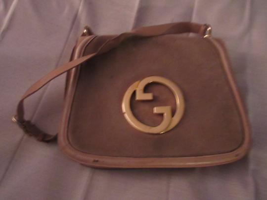 Gucci Early Blondie Excellent Vintage Perfect For Everyday Rare Suede/Leather High-end Bohemian Hobo Bag Image 4