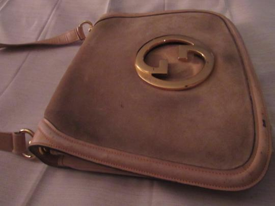 Gucci Early Blondie Excellent Vintage Perfect For Everyday Rare Suede/Leather High-end Bohemian Hobo Bag Image 5