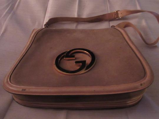 Gucci Early Blondie Excellent Vintage Perfect For Everyday Rare Suede/Leather High-end Bohemian Hobo Bag Image 9