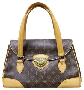 Louis Vuitton Lv Beverly Gm Canvas Shoulder Bag