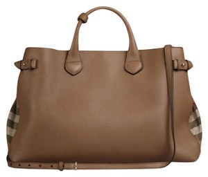 Burberry Satchel in dark sand