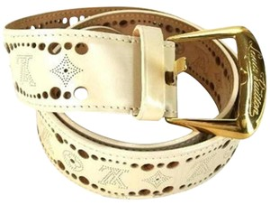 Louis Vuitton Perforated LV Belt 207907