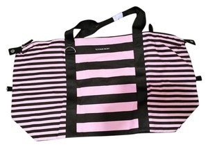 PINK Pink and Black Travel Bag