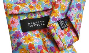 Barneys New York NEW $315 floral tie