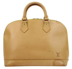 Louis Vuitton Satchel in Natural