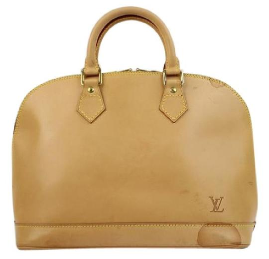 Preload https://img-static.tradesy.com/item/20543669/louis-vuitton-alma-anniversary-jlvlm165-natural-leather-satchel-0-0-540-540.jpg