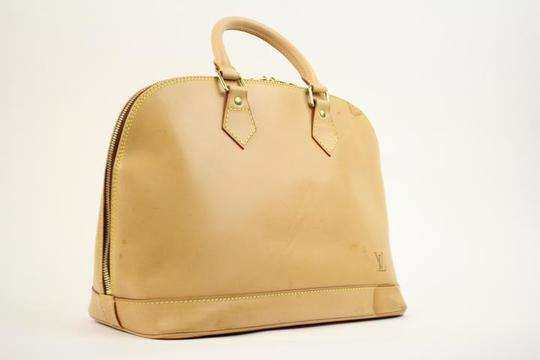 Louis Vuitton Satchel in Natural Image 10