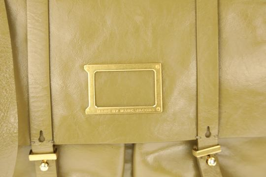 Marc Jacobs Leather Crossbody Green Messenger Bag Image 3
