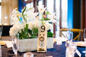 Vintage Door Plate Table Numbers